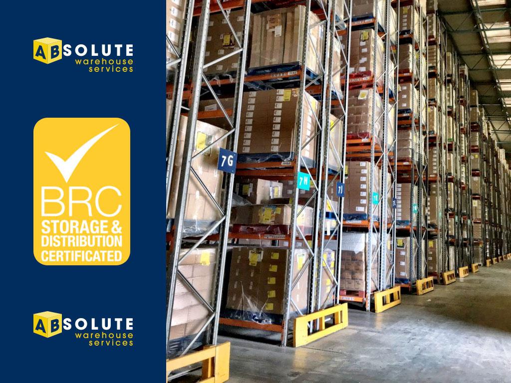 brc certified warehouse